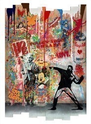 Love Love Love Love by Uri Dushy -  sized 35x51 inches. Available from Whitewall Galleries